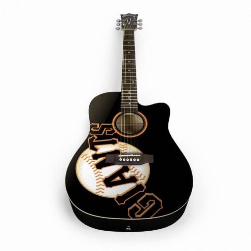 San Francisco Giants Woodrow Acoustic Guitar