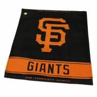 San Francisco Giants Woven Golf Towel