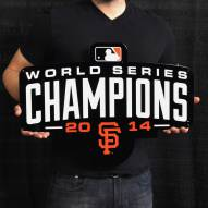 "San Francisco Giants WS 2014 24"" Steel Logo Sign"