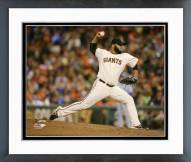 San Francisco Giants Yusmeiro Petit World Series Framed Photo