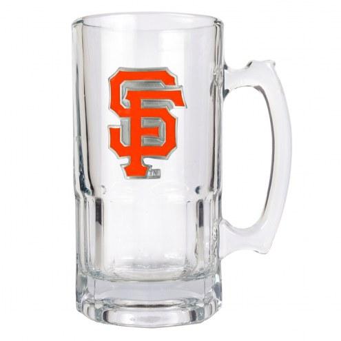 San Francisco Giants MLB 1 Liter Glass Macho Mug