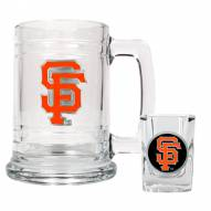 San Francisco Giants MLB Boilermaker Set - Shot Glass & Tankard Mug