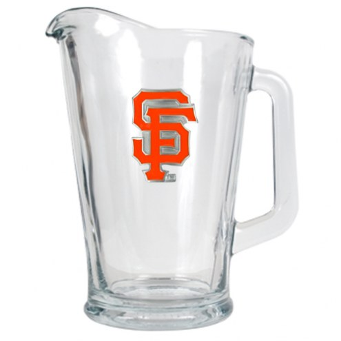 San Francisco Giants MLB 60 Oz. Glass Pitcher