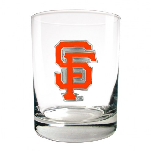 San Francisco Giants MLB 2-Piece 14 Oz. Rocks Glass Set