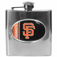 San Francisco Giants MLB 6 Oz. Stainless Steel Hip Flask
