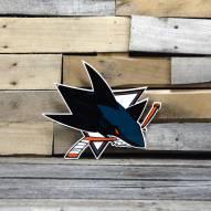 "San Jose Sharks 12"" Steel Logo Sign"