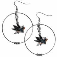 """San Jose Sharks 2"""" Hoop Earrings"""