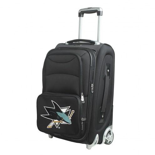 "San Jose Sharks 21"" Carry-On Luggage"