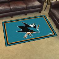 San Jose Sharks 4' x 6' Area Rug