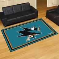San Jose Sharks 5' x 8' Area Rug
