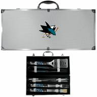 San Jose Sharks 8 Piece Tailgater BBQ Set
