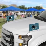San Jose Sharks Ambassador Car Flags