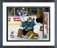 San Jose Sharks Antti Niemi 2015 NHL Stadium Series Framed Photo