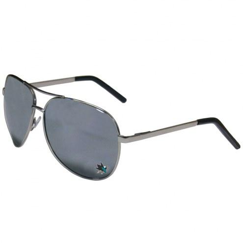 San Jose Sharks Aviator Sunglasses