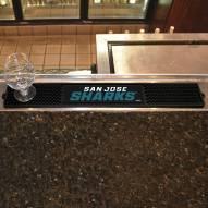 San Jose Sharks Bar Mat