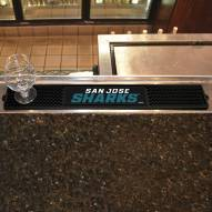 San Jose Sharks Bar Mat