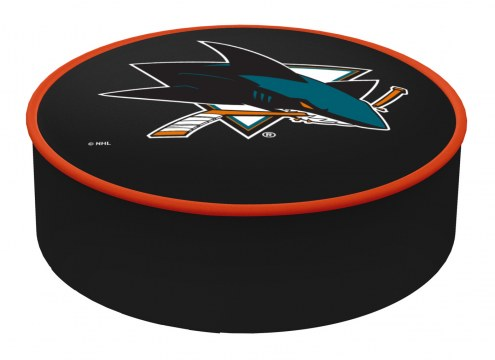 San Jose Sharks Bar Stool Seat Cover