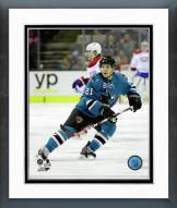 San Jose Sharks Ben Smith Action Framed Photo