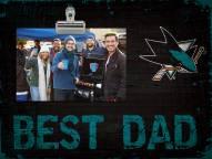 San Jose Sharks Best Dad Clip Frame