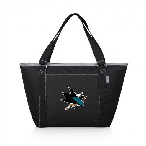 San Jose Sharks Black Topanga Cooler Tote