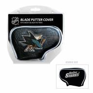 San Jose Sharks Blade Putter Headcover
