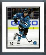 San Jose Sharks Brenden Dillon Action Framed Photo