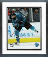 San Jose Sharks Brent Burns Action Framed Photo