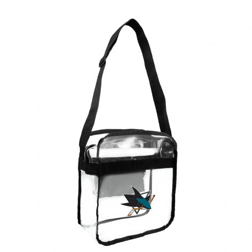 San Jose Sharks Clear Crossbody Carry-All Bag