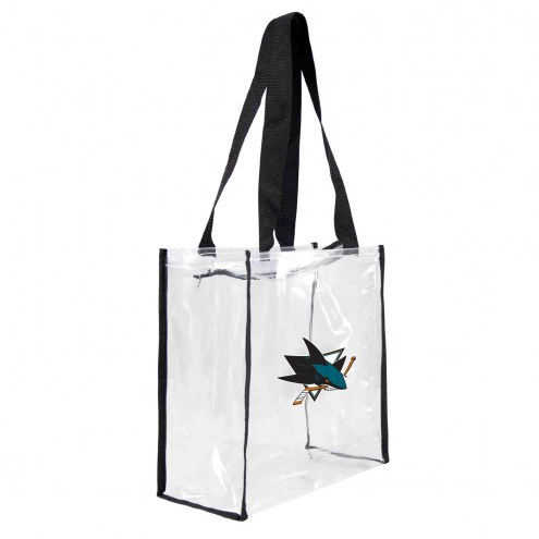 San Jose Sharks Clear Square Stadium Tote