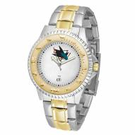 San Jose Sharks Competitor Two-Tone Men's Watch