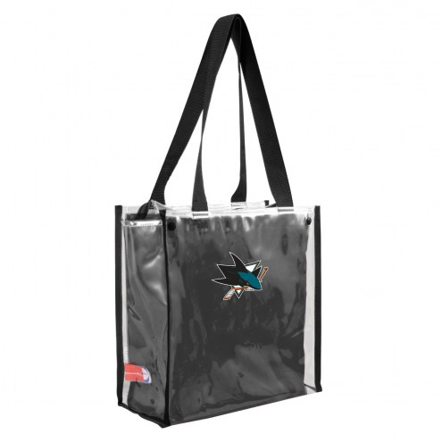 San Jose Sharks Convertible Clear Tote