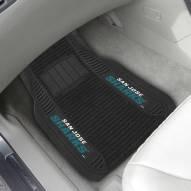 San Jose Sharks Deluxe Car Floor Mat Set