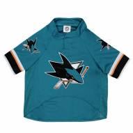 San Jose Sharks Dog Hockey Jersey