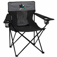 San Jose Sharks Elite Tailgating Chair