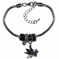 San Jose Sharks Euro Bead Bracelet
