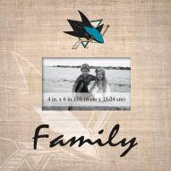 San Jose Sharks Family Picture Frame
