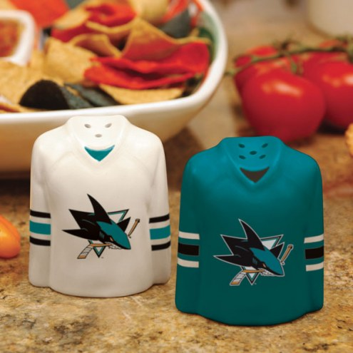 San Jose Sharks Gameday Salt and Pepper Shakers
