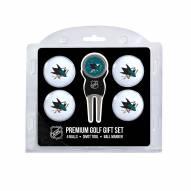 San Jose Sharks Golf Ball Gift Set