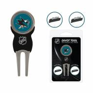 San Jose Sharks Golf Divot Tool Pack