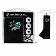 San Jose Sharks Golf Gift Set