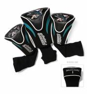 San Jose Sharks Golf Headcovers - 3 Pack