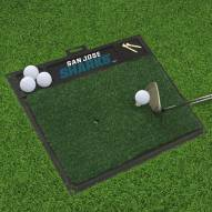 San Jose Sharks Golf Hitting Mat