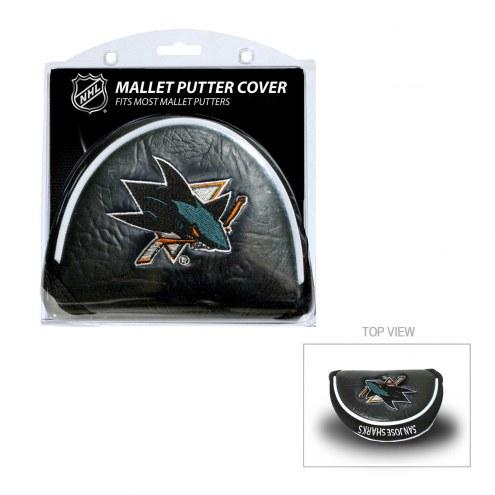 San Jose Sharks Golf Mallet Putter Cover