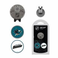 San Jose Sharks Hat Clip & Marker Set
