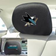 San Jose Sharks Headrest Covers