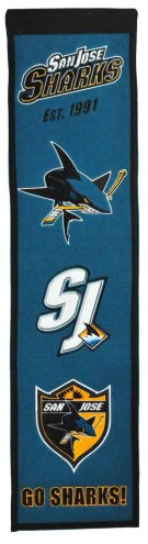San Jose Sharks Heritage Banner