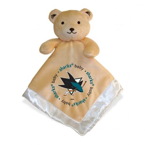 San Jose Sharks Infant Bear Security Blanket