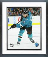 San Jose Sharks James Sheppard Action Framed Photo