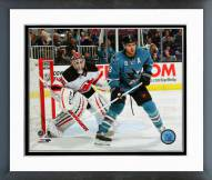 San Jose Sharks Joe Pavelski 2014-15 Action Framed Photo