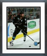 San Jose Sharks Joe Thornton Action Framed Photo